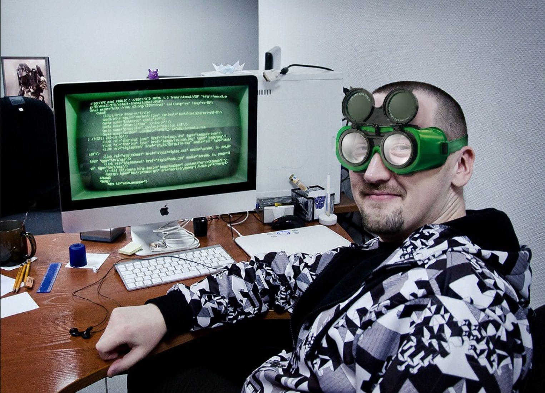 Смешная картинка с программистом