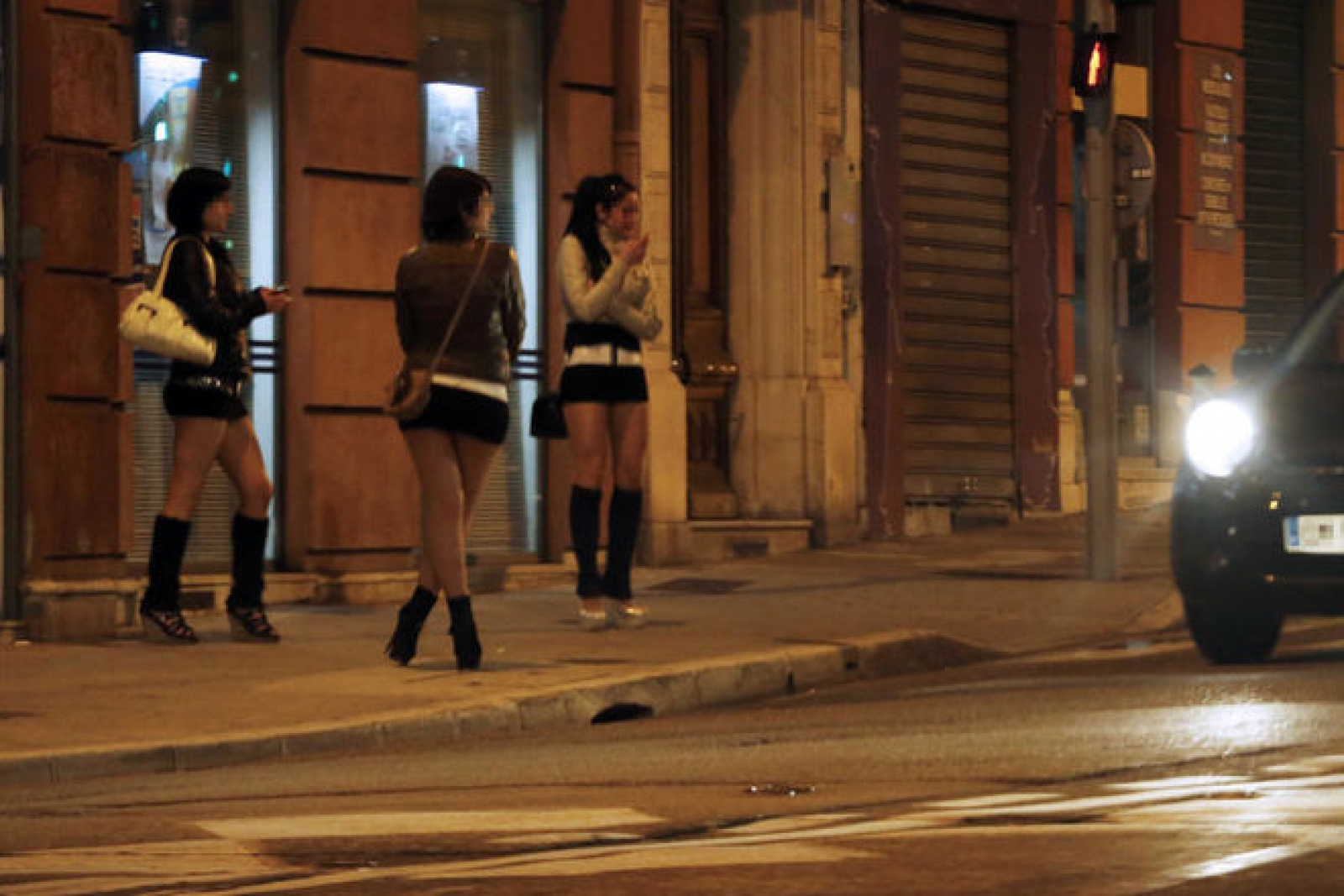 Face Of The First Prostitute Conicted In Oxford Road Vice Clampdown