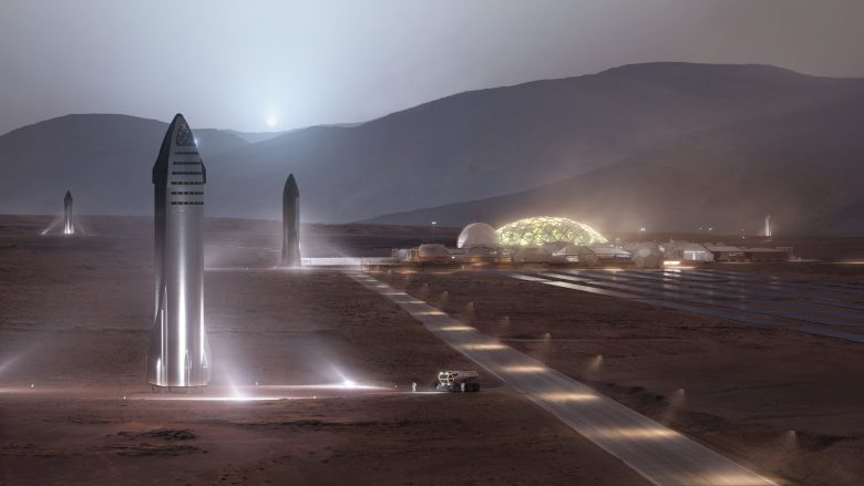 SpaceX полеті на луну марс