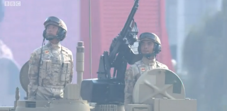 военный парад в КНР
