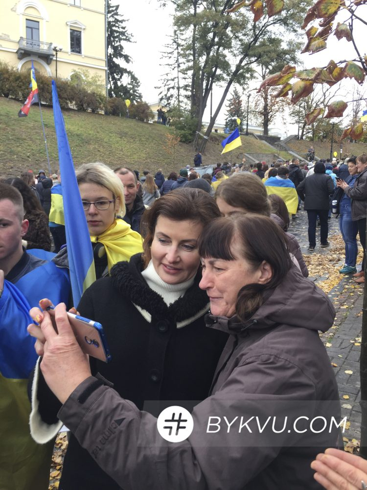 Марина Порошенко на Майдане