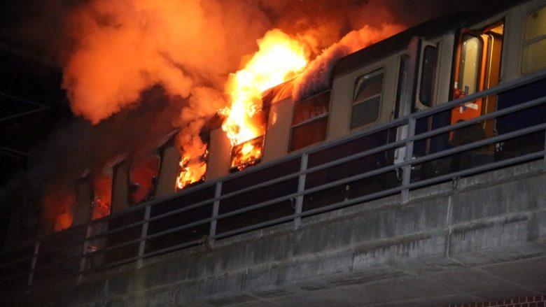 ВГермании произошел пожар впоезде сфутбольными фанатами