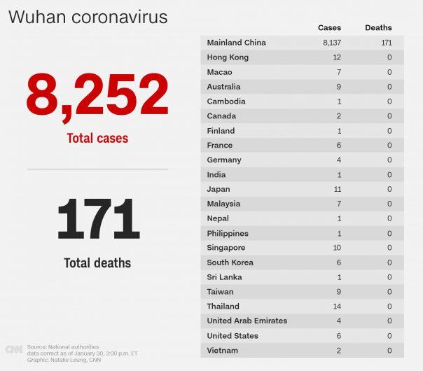 коронавирус в каких странах есть
