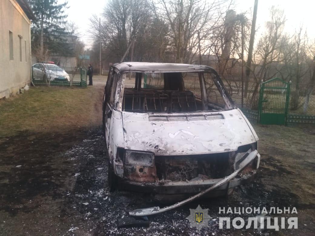священнику ПЦУ сожгли авто