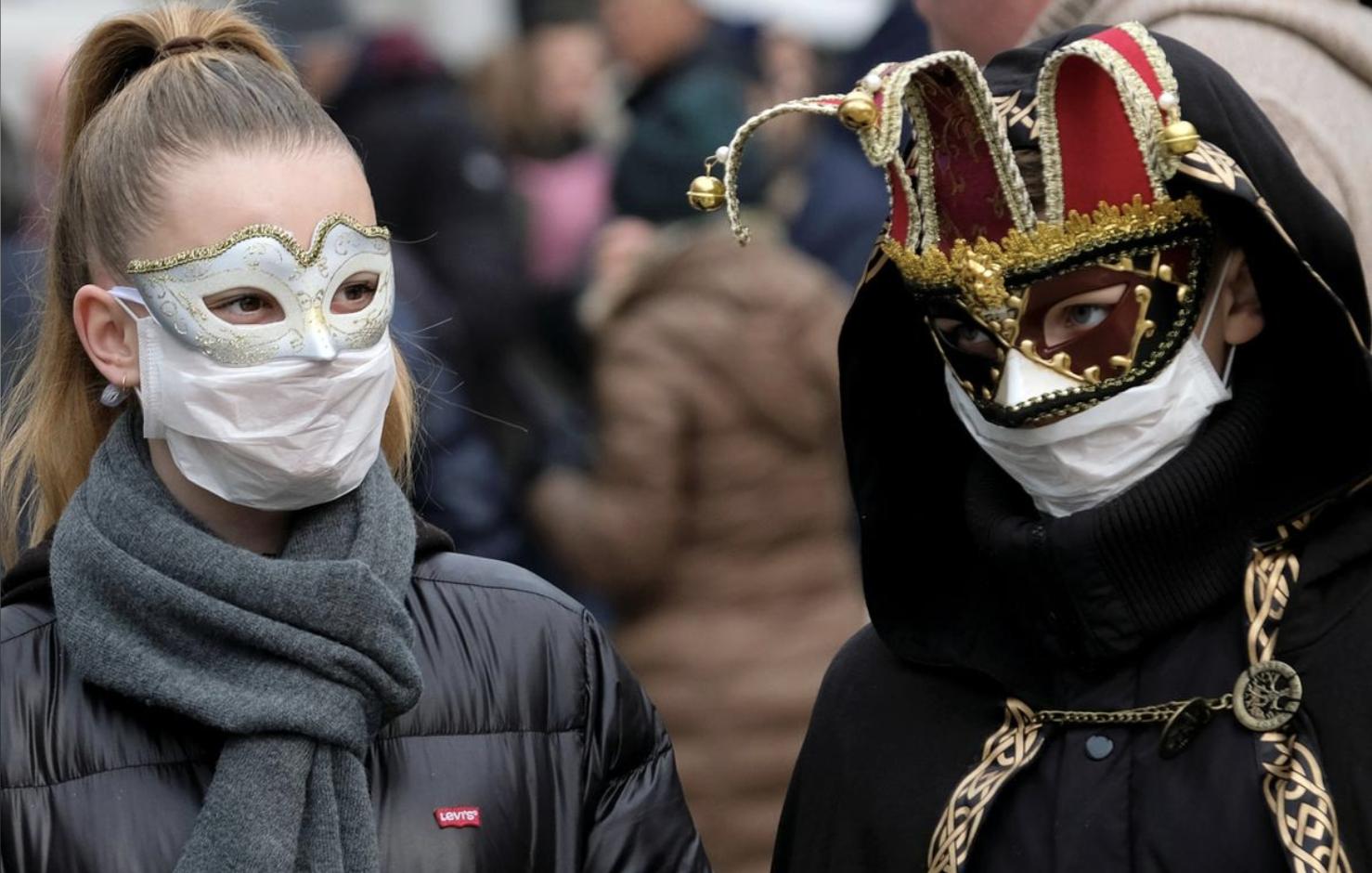 Венецианский_карнавал коронавирус Италия