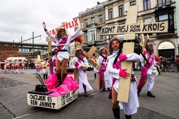Алст_Бельгия_парад