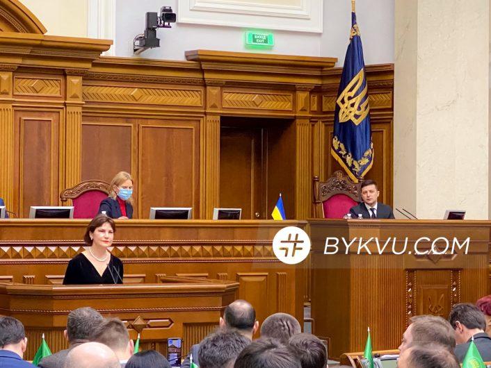 Ирина Венедиктова в Парламенте_01