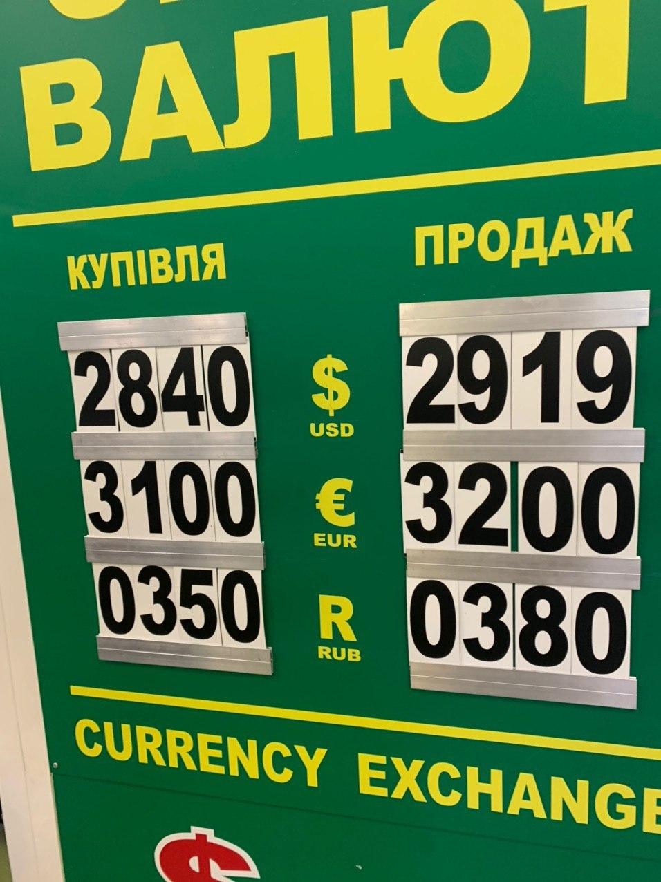 курс валют_киев_коронавирус