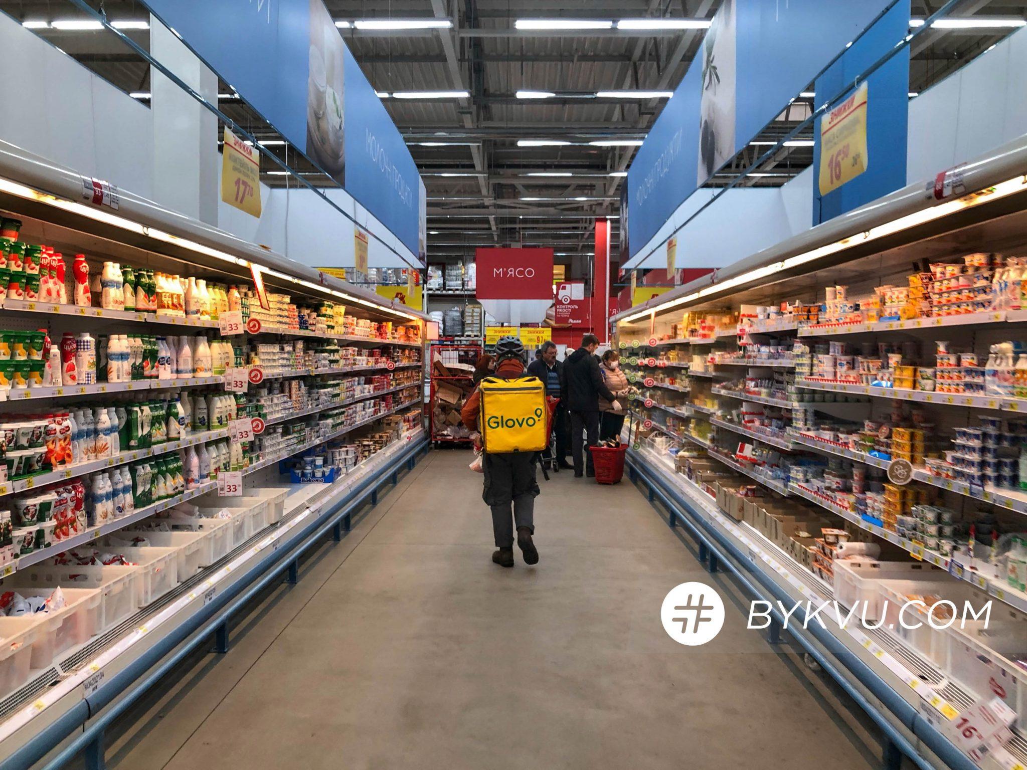 карантин_киев_супермаркет_полки