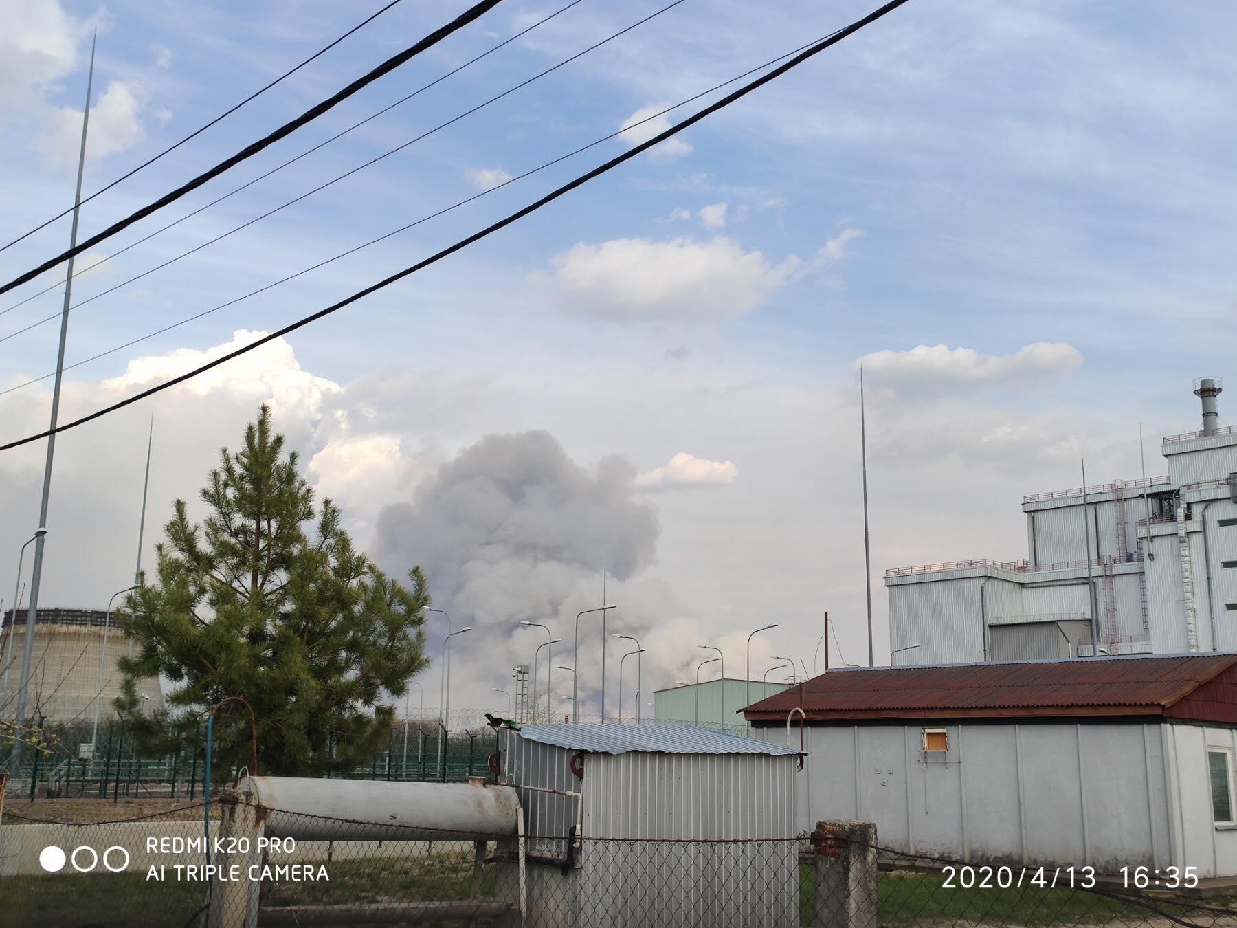 Около Чернобыльской АЭС открытого огня больше нет— МВД Украины