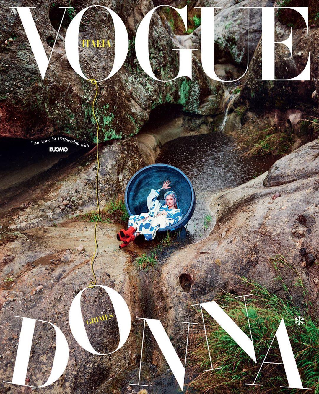 grimes Vogue Italia