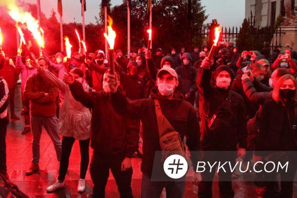 Дело Шеремета акция протеста под ОП