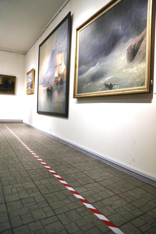 Погром в музее Гончара