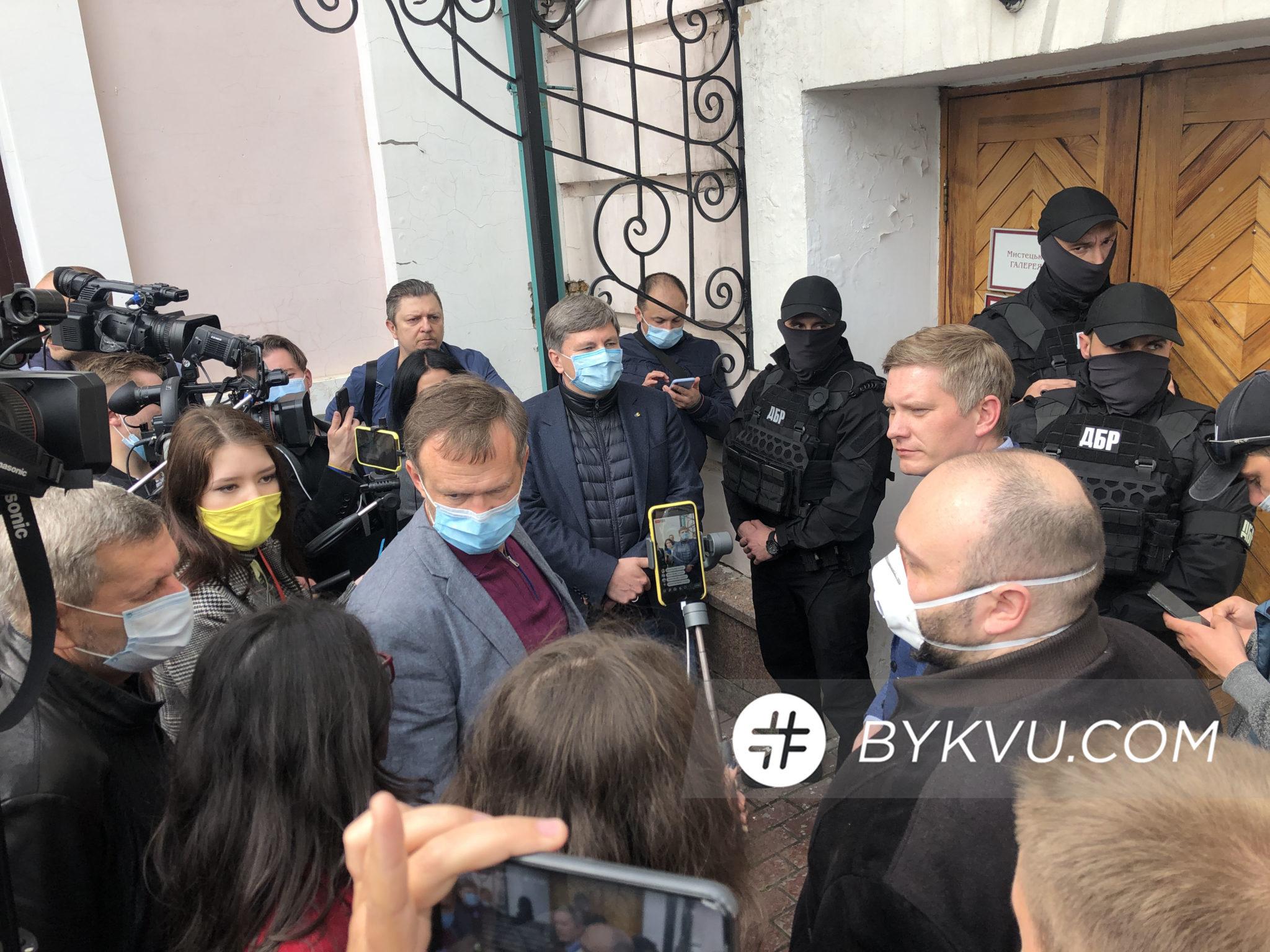 ДБР_музей Гончара_штурм