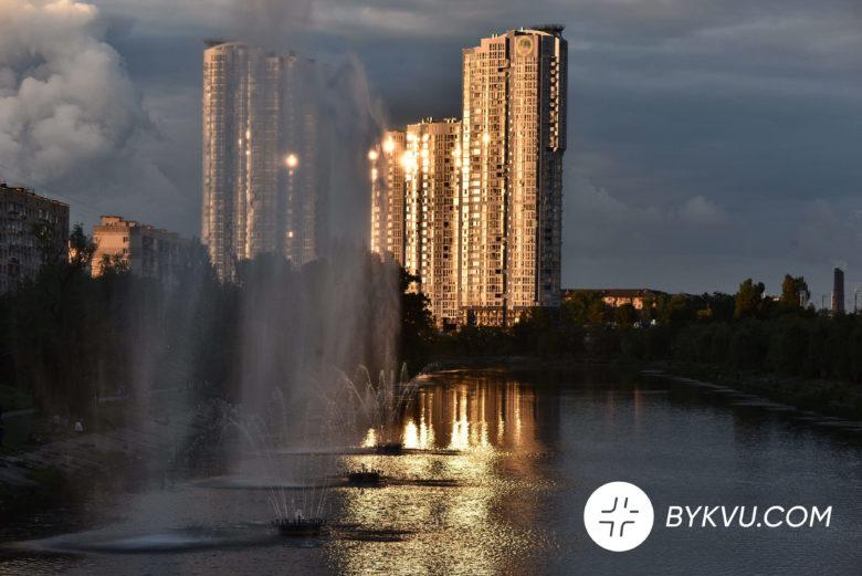 У Києві запустили фонтани_11