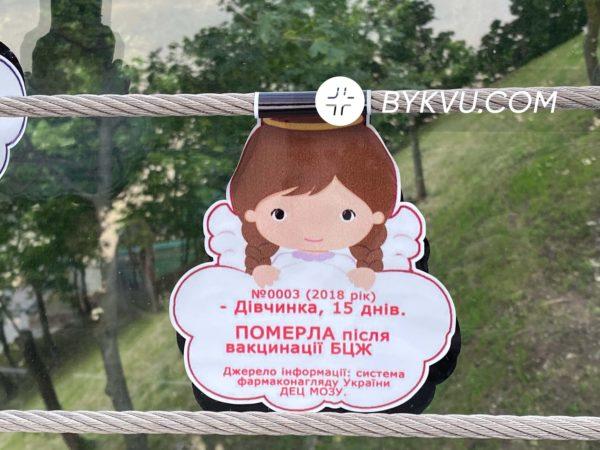 Мост Кличко антивакцинальные листовки