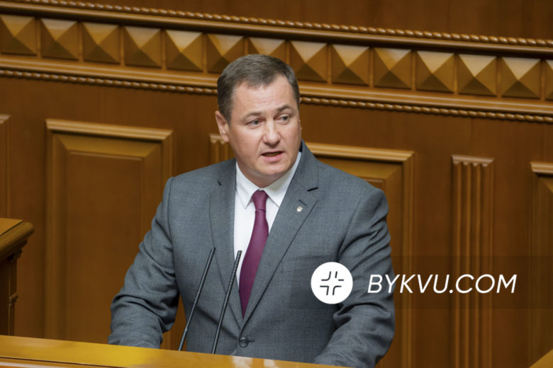 Сергей Евтушок в Верховной Раде