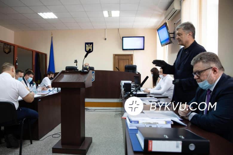 Петро Порошенко в Печерському райсуді