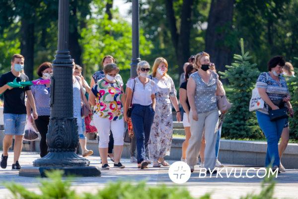 Жителі Васильківського району мітингують під Радою