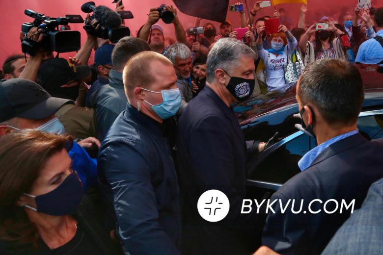 Печерский суд. Петр Порошенко