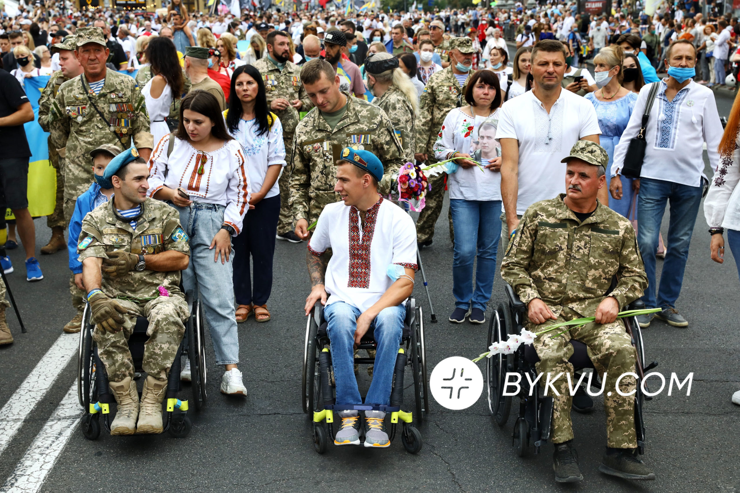 Марш защитников Украины