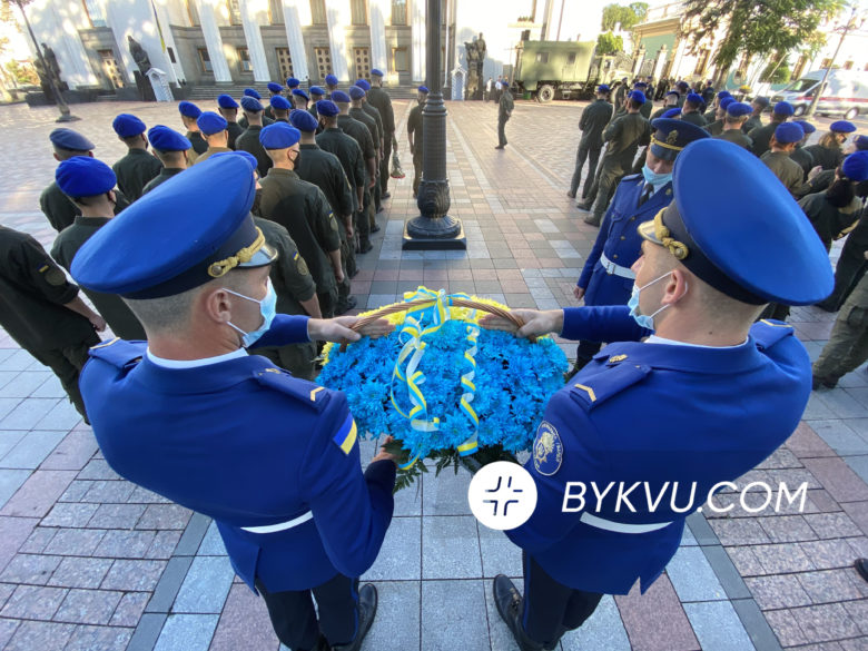 Церемонія пам'яті нацгвардійців 31 серпня