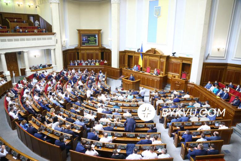 Верховна Рада 1 вересня 2020