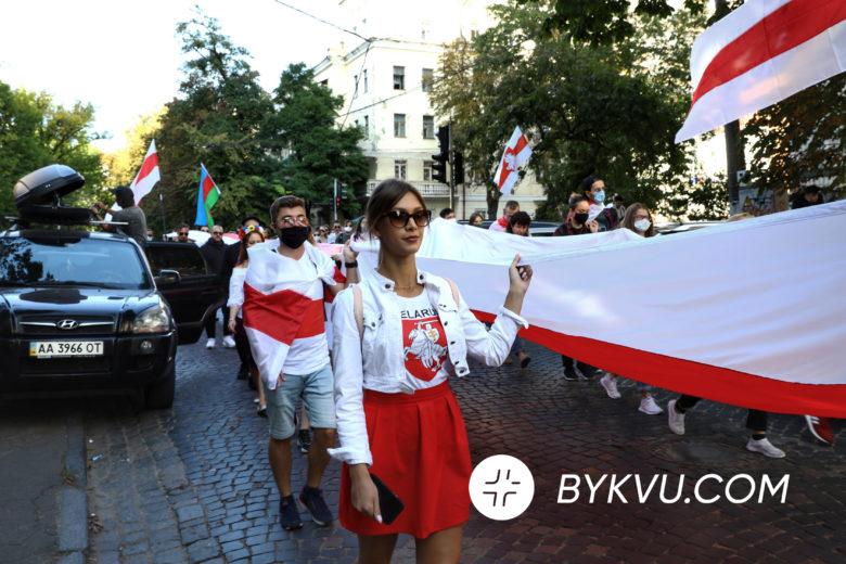 Марш за волю Білорусі в Києві