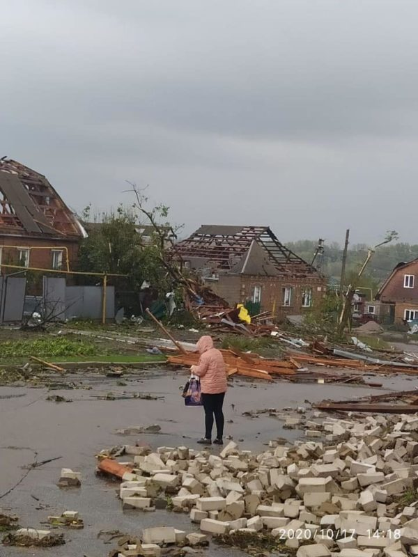 Україну накрила негода: у Білій Церкві - повінь, в Кропивницькому - буревій