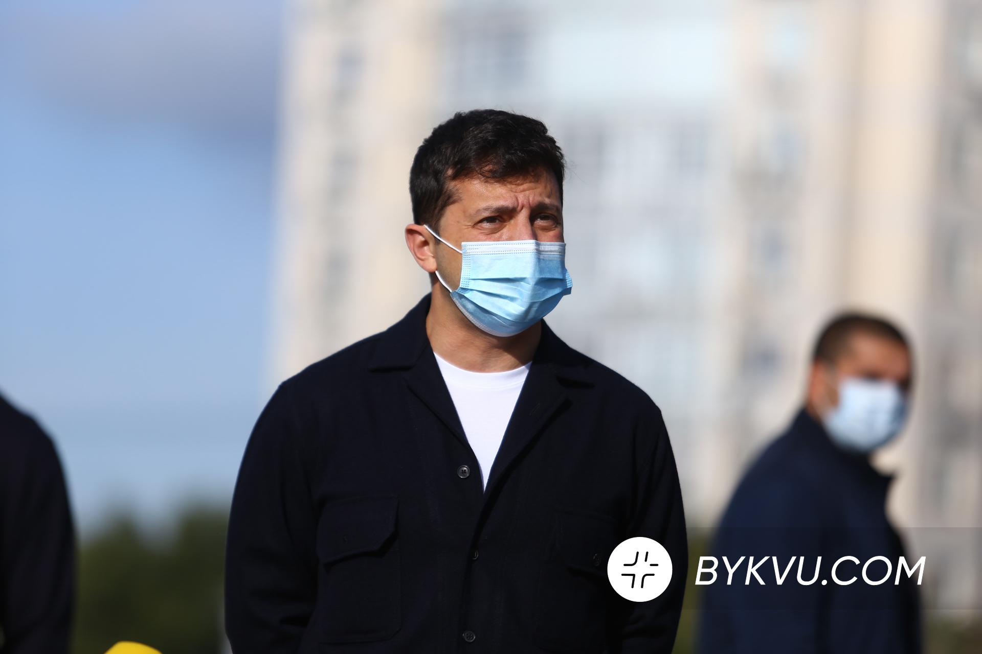Володимир Зеленський на місцевих виборах 25 жовтня