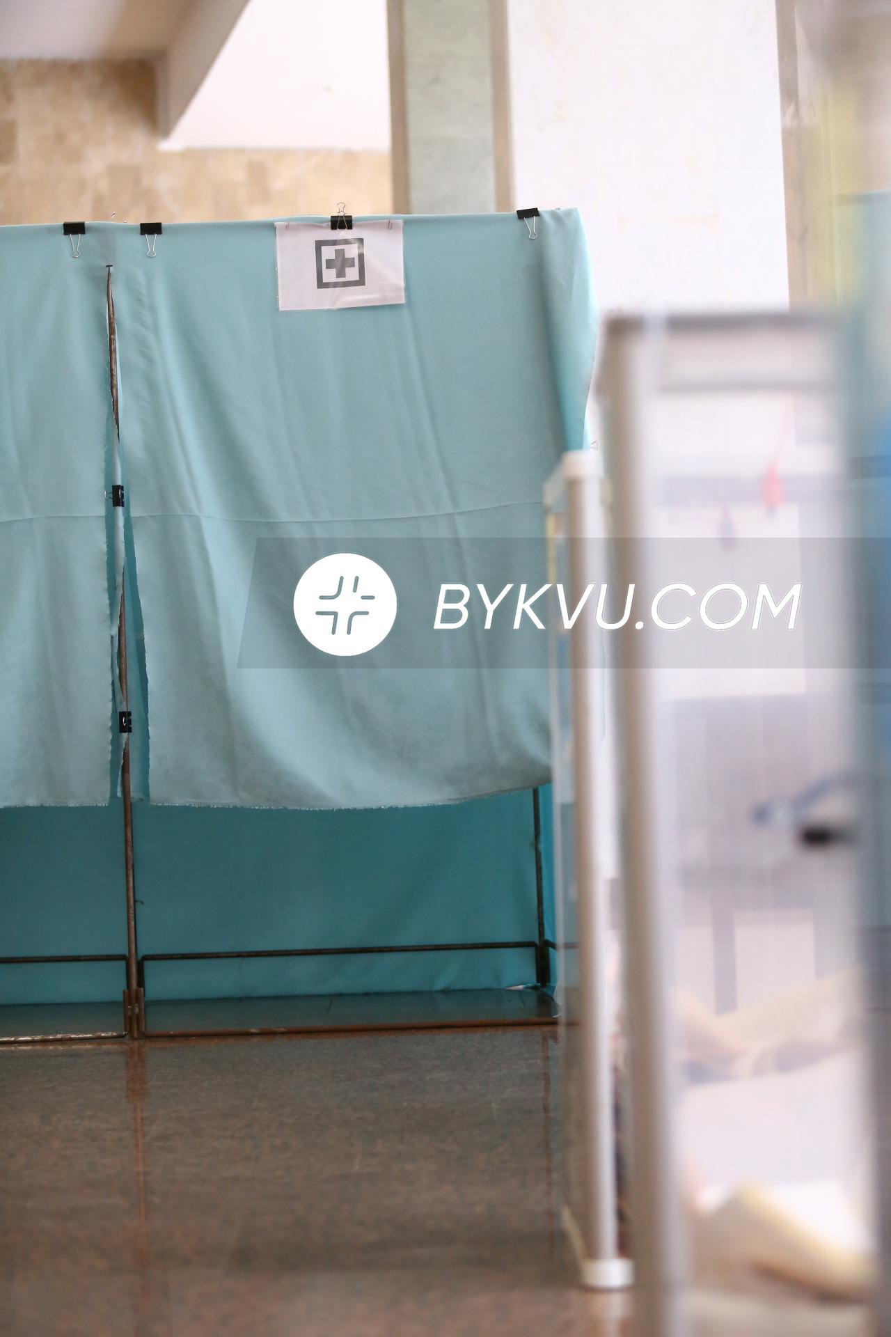 кабинки для голосования