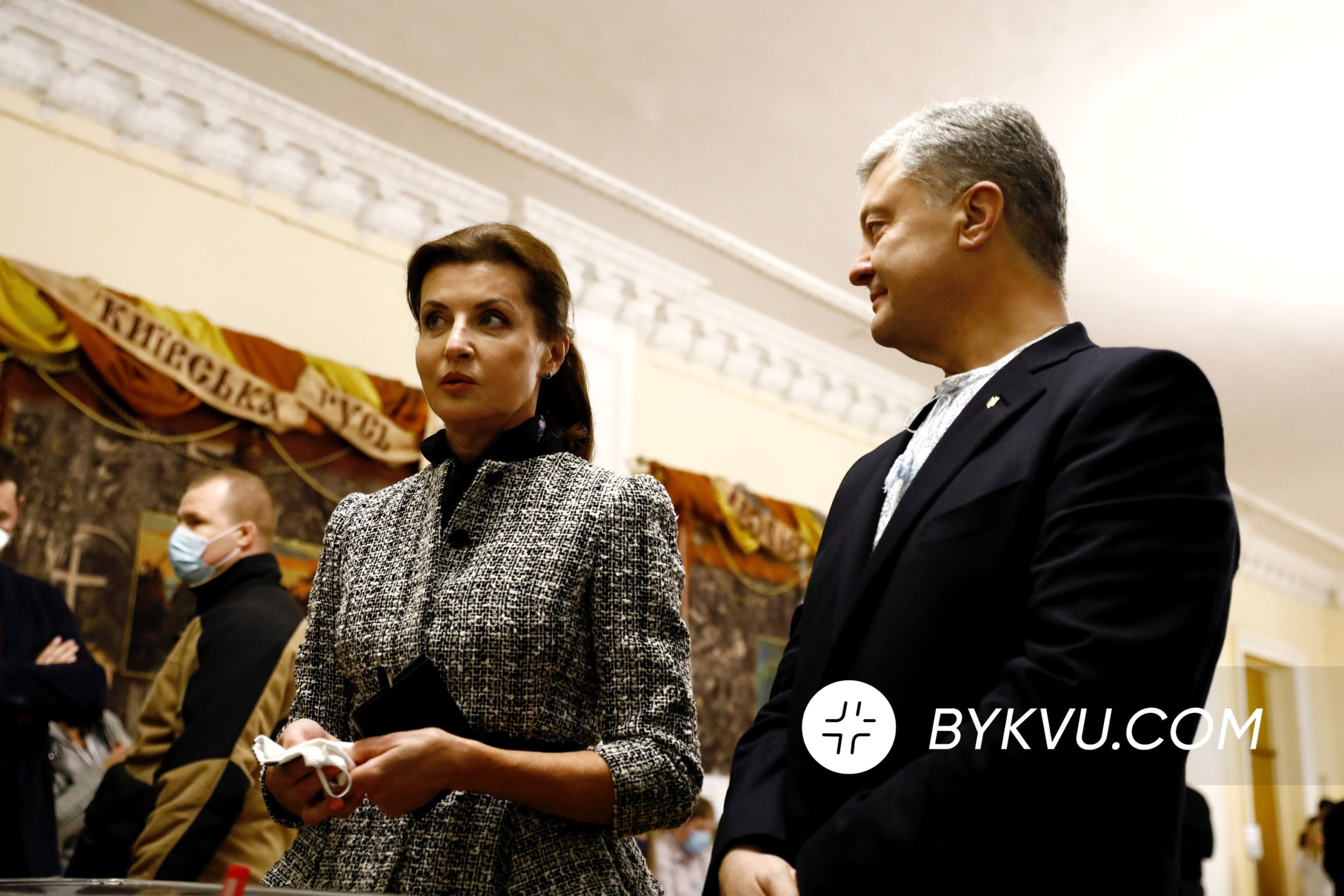 Подружжя Порошенків проголосувало на місцевих виборах