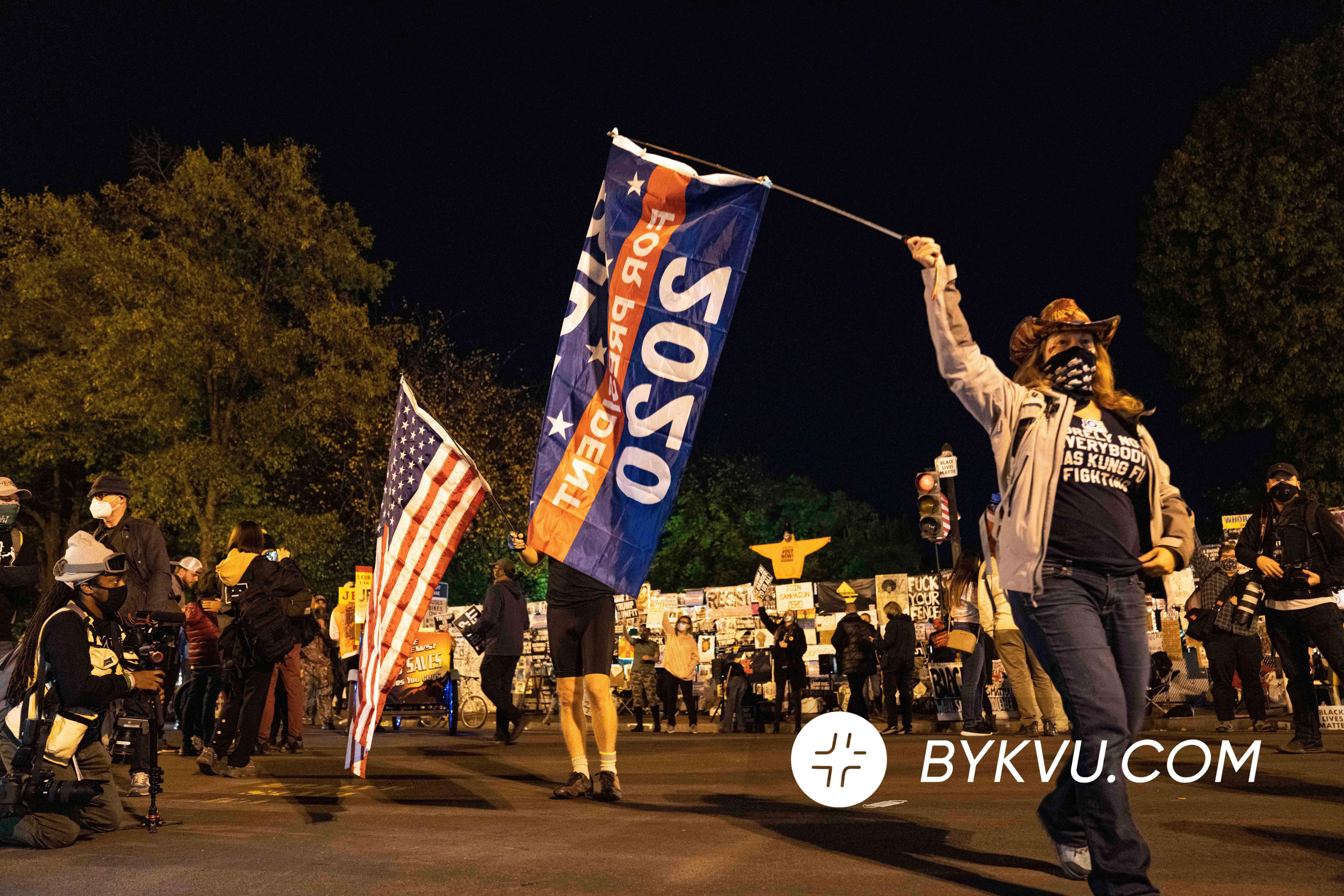 Вашингтон Протест вибори