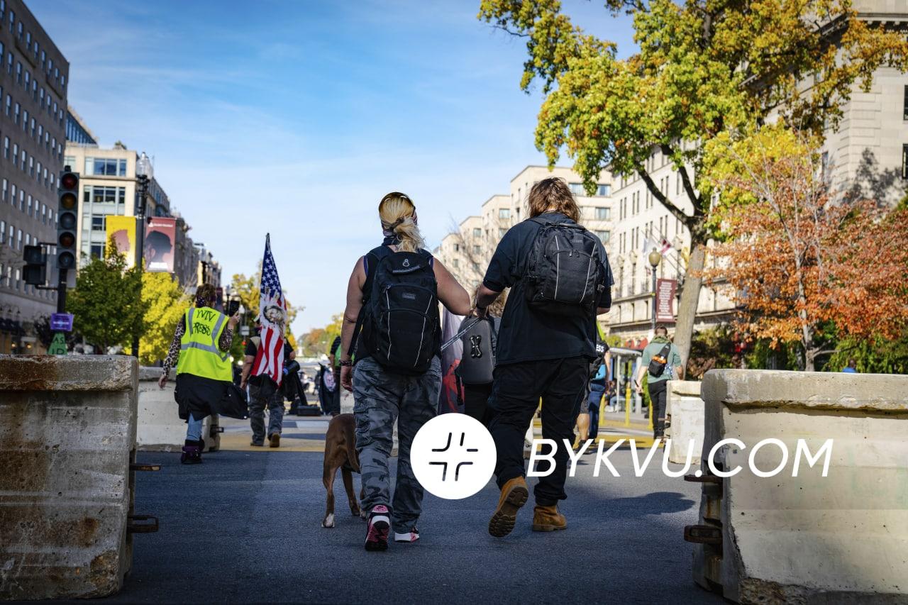 Вашингтон Протест выборы