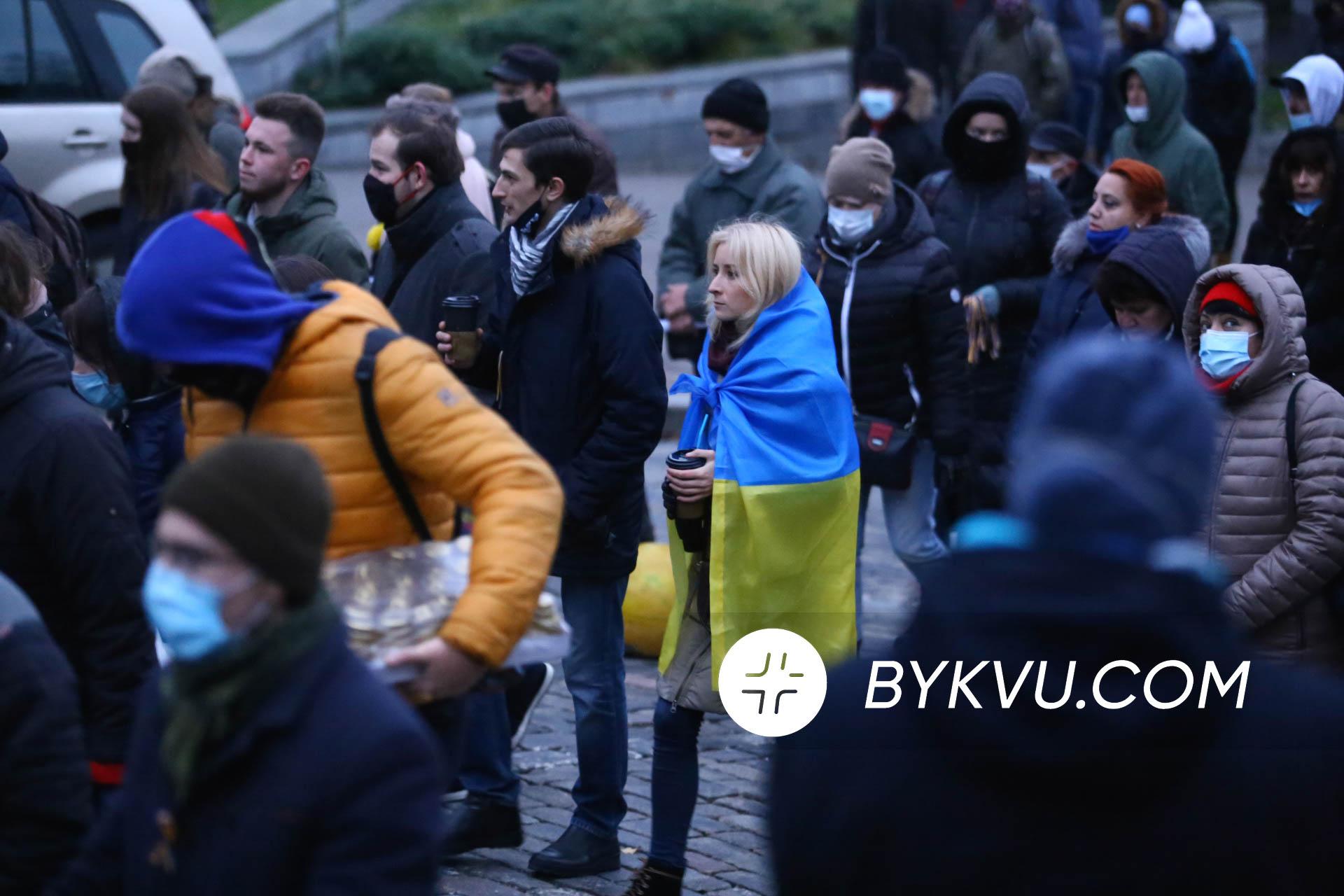 Хода у Києві 21 листопада