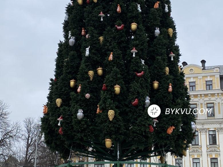 Ялинка у Києві