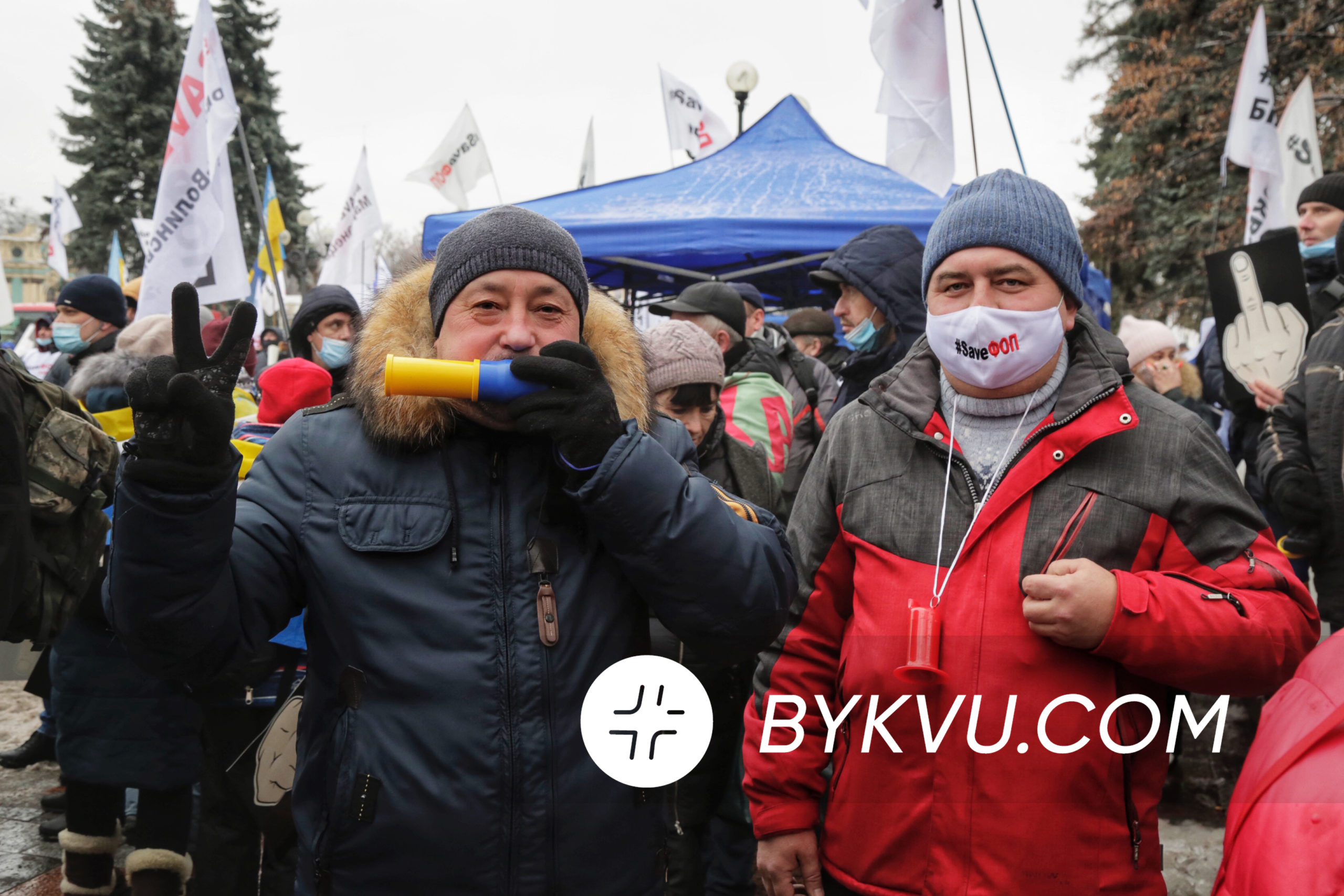 Мітинг ФОПів