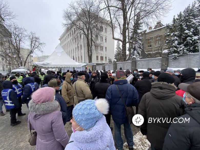 Акція пенсіонерів у Києві