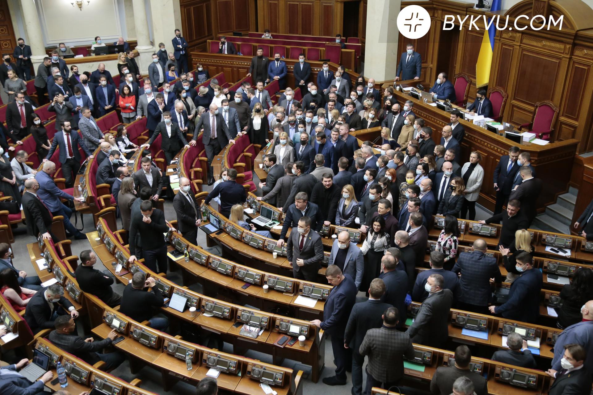 Верховна Рада 17 лютогоВерховна Рада 17 лютого