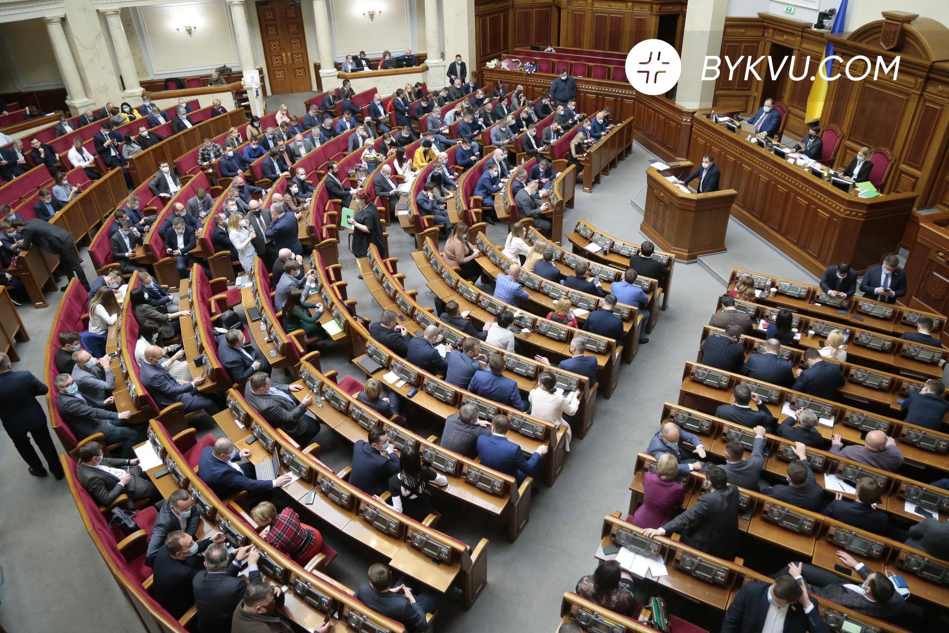 Верховна Рада 15 квітня