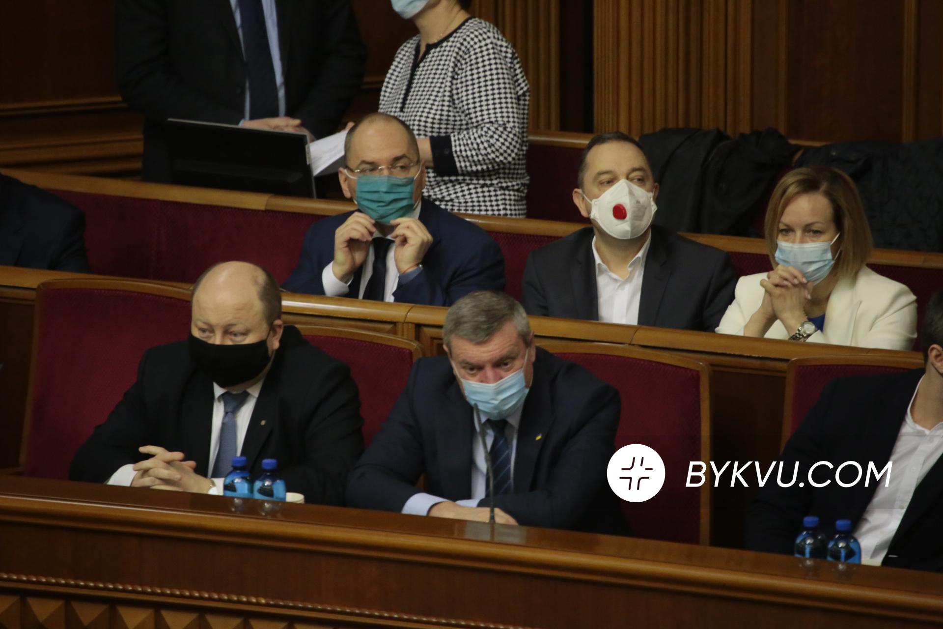 Верховна Рада 16 квітня