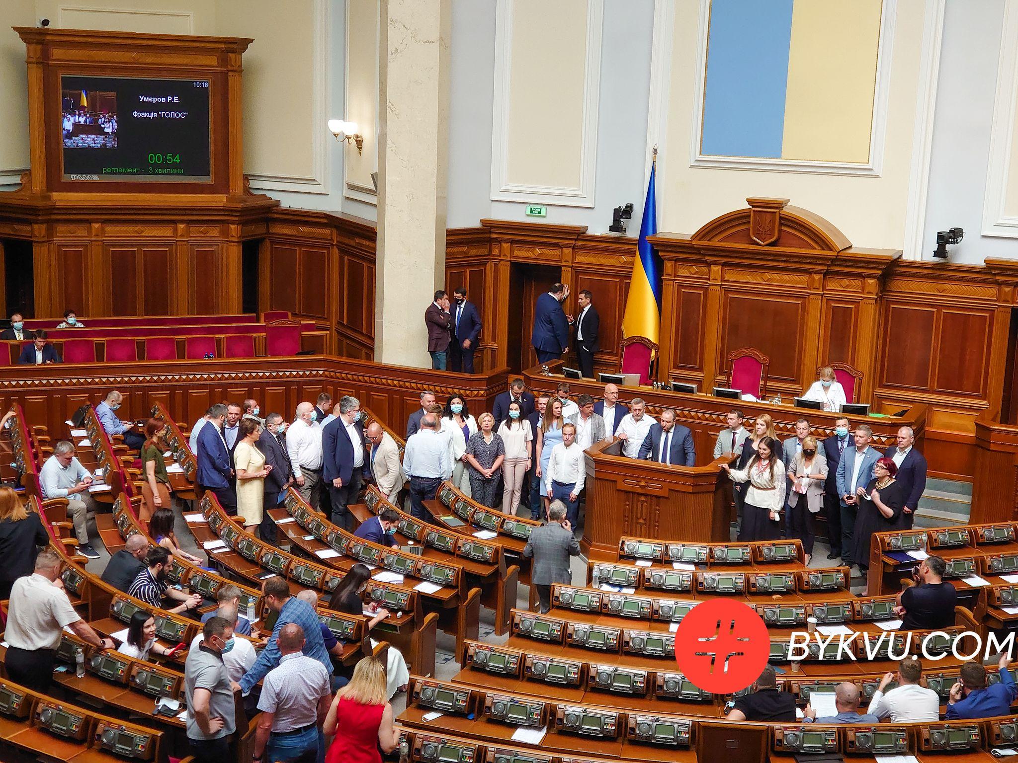 Верховна Рада 13 липня 2021