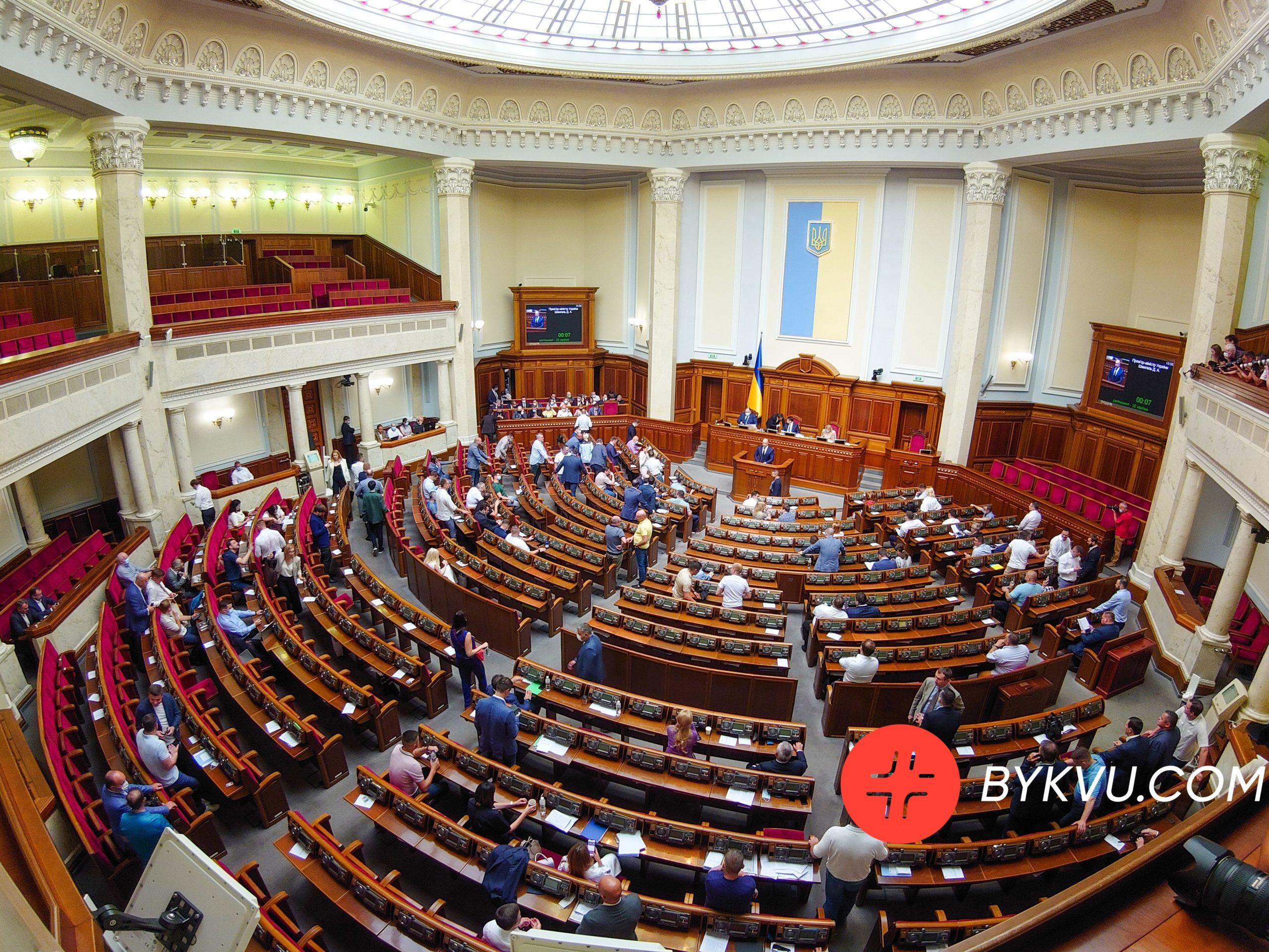 Верховна Рада 15 липня 2021