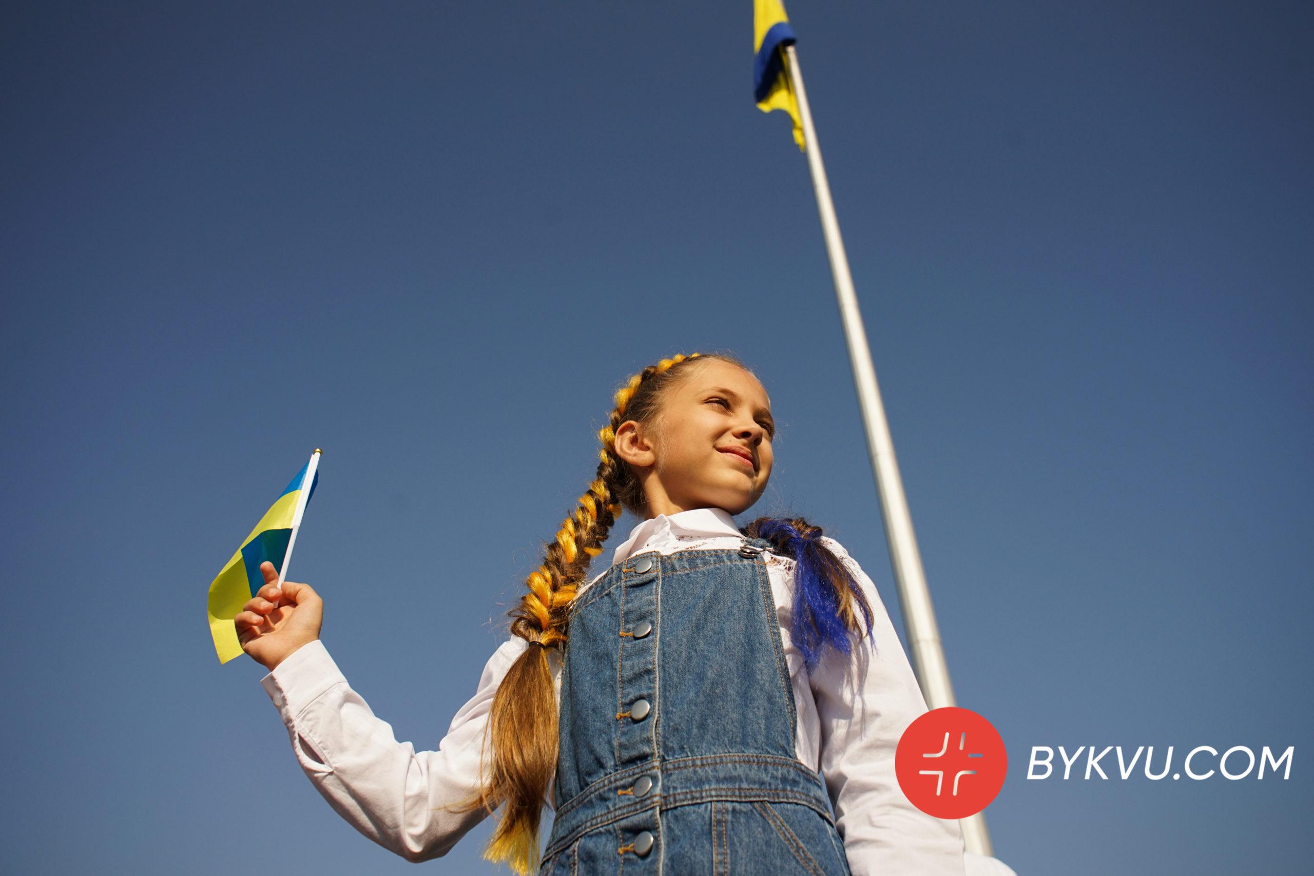 Прапор України в Києві