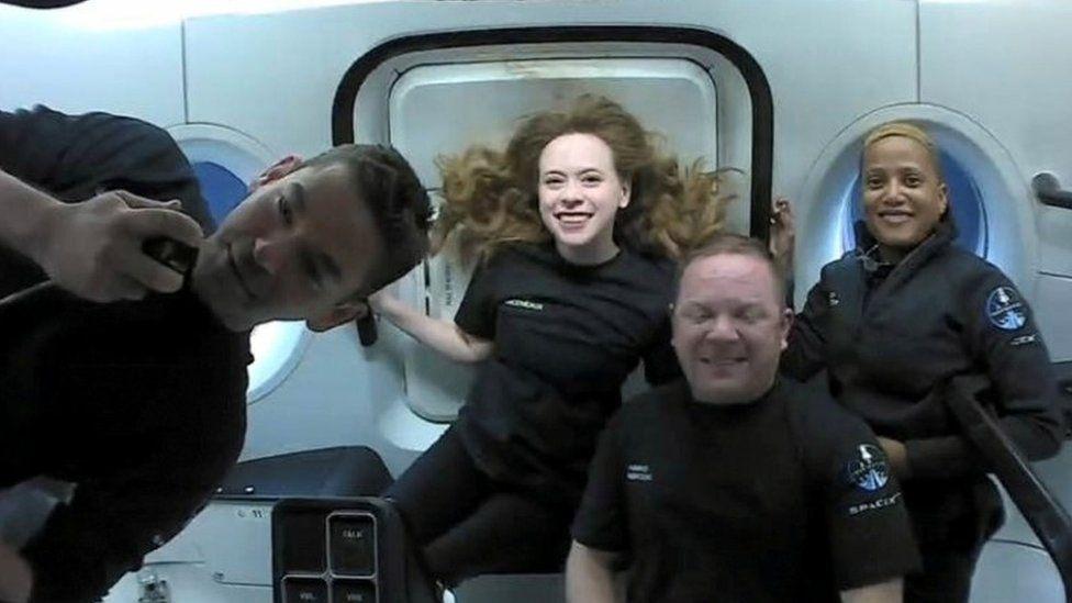 Корабель SpaceX із цивільною місією Inspiration4 успішно приводнився біля Флориди