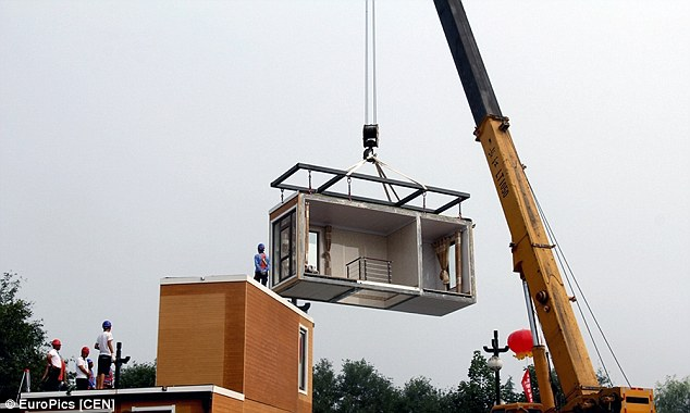 Quick build The 3D printed house