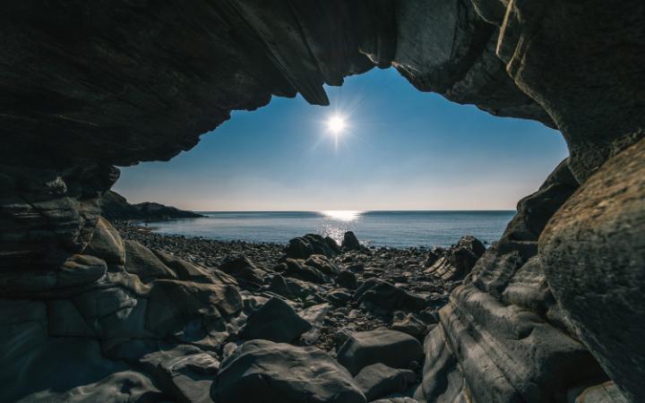 isle Glen Maye Beach large