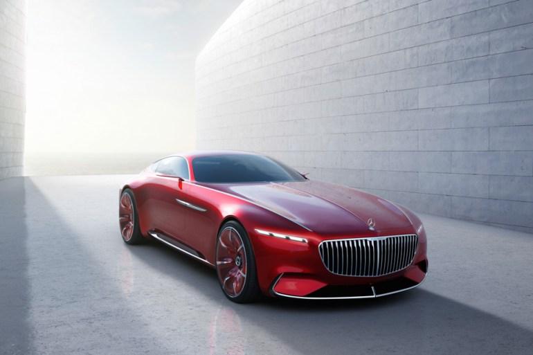 Vision Mercedes Maybach 6 1