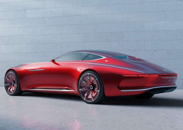 Vision Mercedes Maybach 6 2