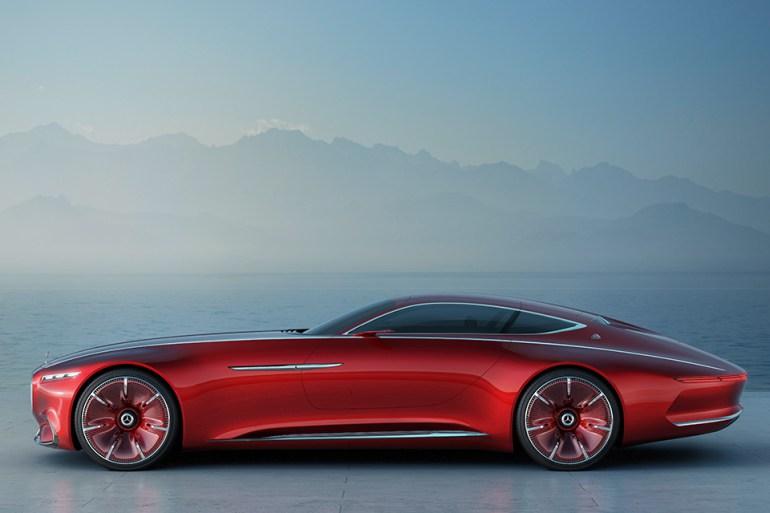 Vision Mercedes Maybach 6 3